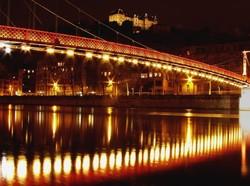 Lyon ... la ville lumière.. un soir de février