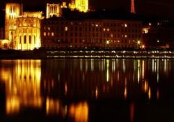 Lyon, la Saône, St-Jean et la basilique