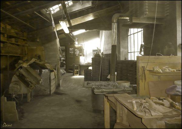 un atelier d'autrefois