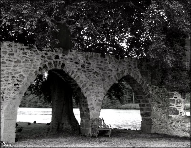 Repos entre deux arches