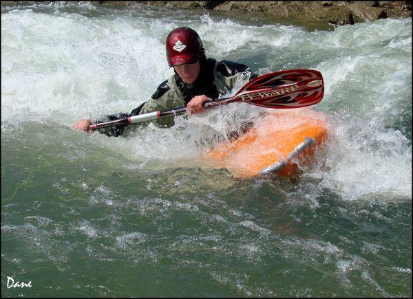 Kayac en eau vive