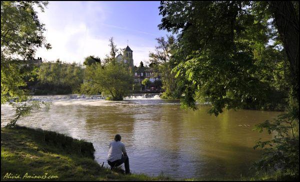Au bord du Loing à Montigny-sur-Loing