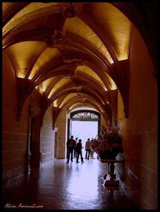 Dans la galerie du chateau..
