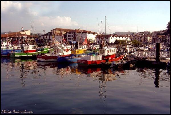 bateaux couleurs