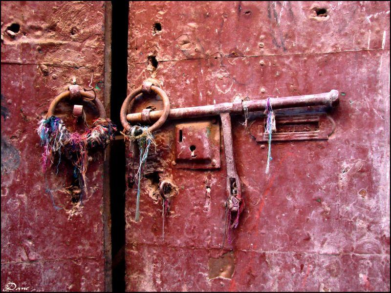 La porte au secrets à Marrakech