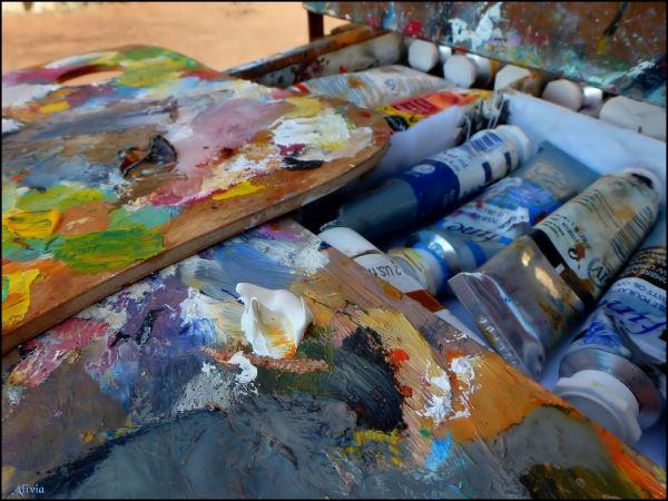 palette du peintre