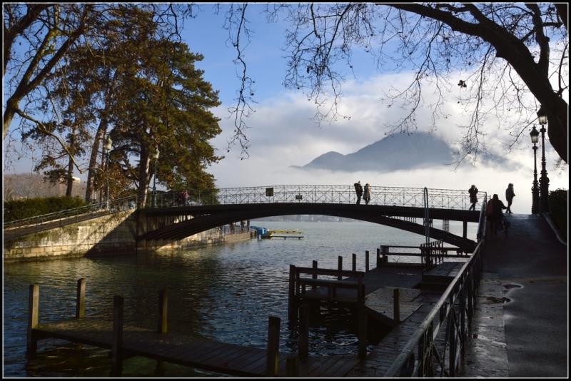Pont de l'Amour à Annecy