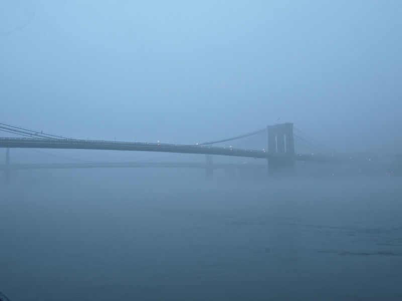 Brooklyn Bridge Fog