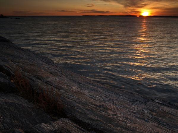 Sunrise at Davenport Park
