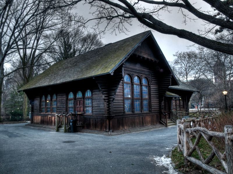 The Swedish Cottage at Central Park - HDR