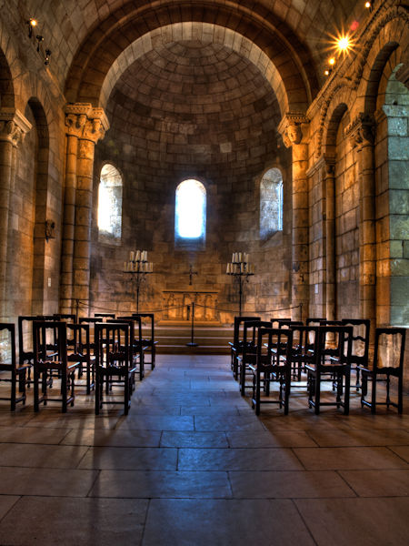 Chapel in the Cloisters - HDR