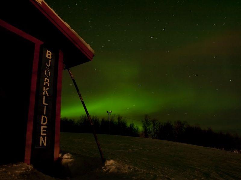 Aurora Borealis at Bjorkliden