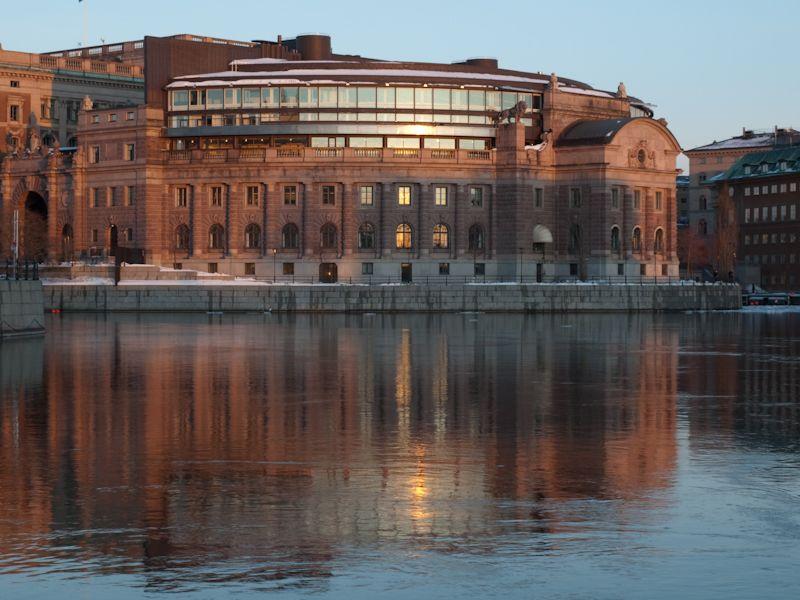Sveriges riksdag (Swedish Parliament)