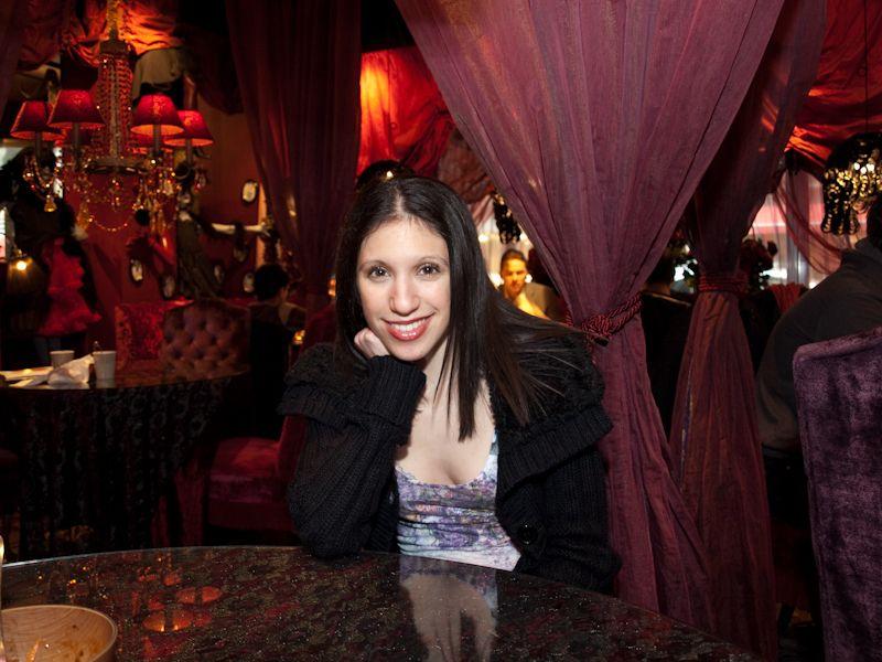 """Lisa at """"Grill"""""""