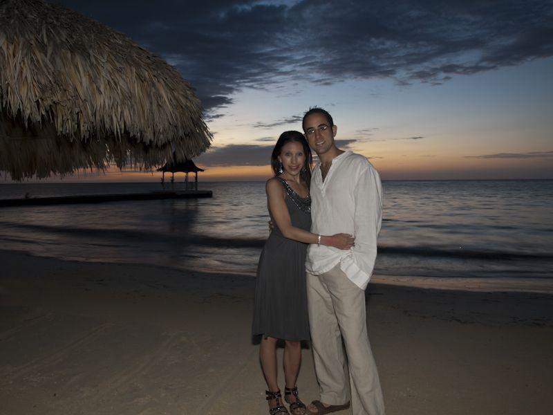 Honeymoon Sunset Portrait