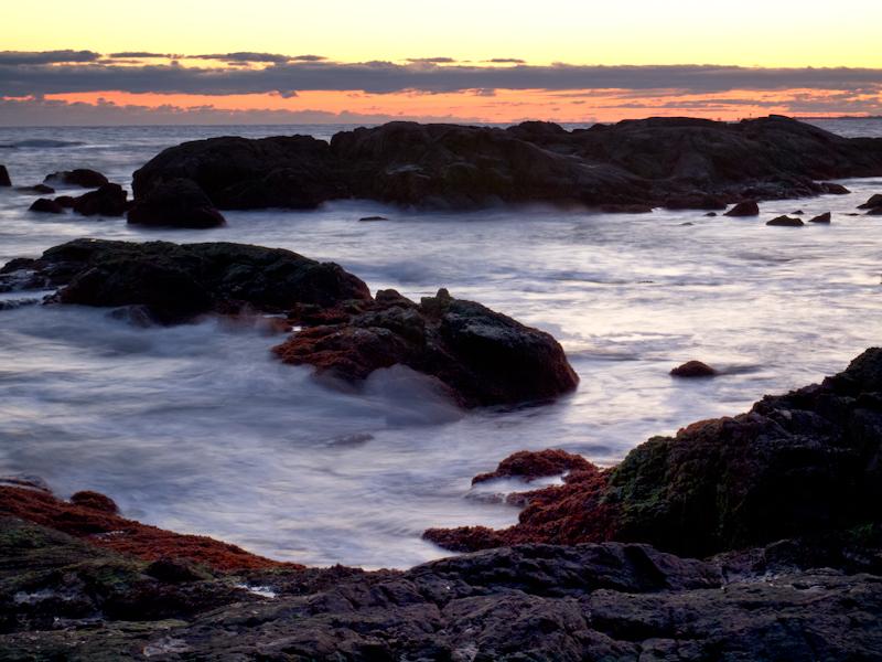 Newport Cliffwalk Sunset 2
