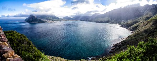 Houts Bay Panoramic from Chapman's Peak Drive