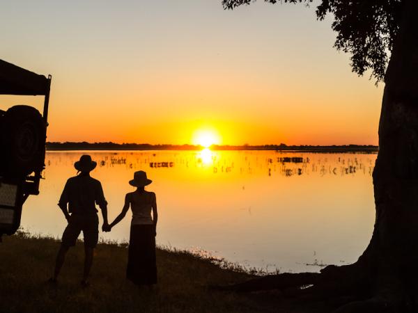 Chobe River Sunset, Botswana