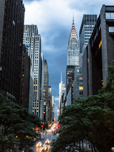 Manhattanhenge - Foiled by a storm!