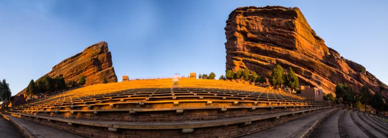 Red Rocks Amphitheater Sunrise