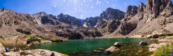 RMNP - Sky Pond Panoramic