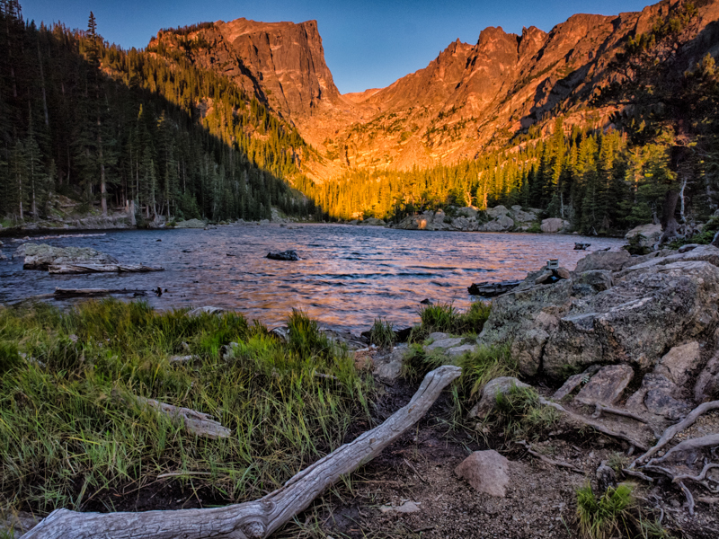 RMNP - Sunrise at Dream Lake