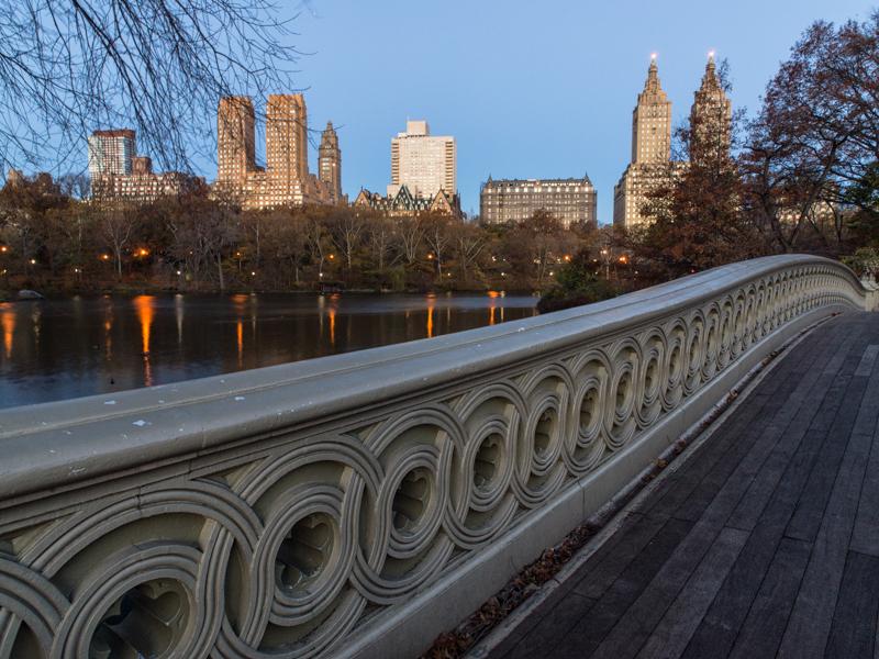 Bow Bridge at dawn