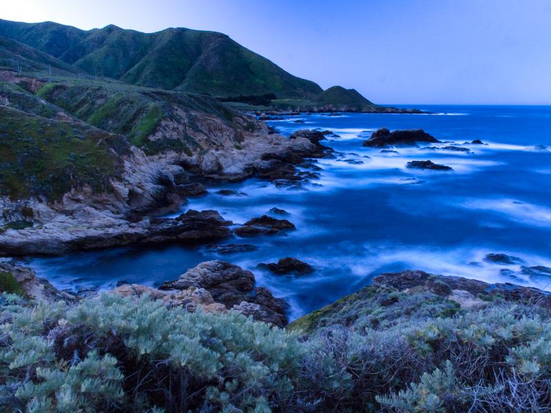 Cali - Big Sur - Sunrise at Garrapata State Park