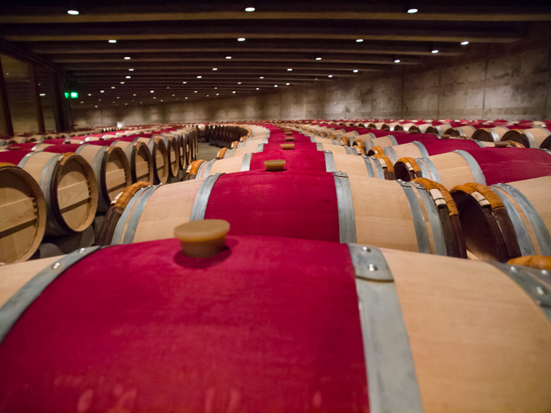 Cali - Napa Valley - The Barrel Room