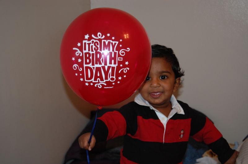 My son's First Birthday