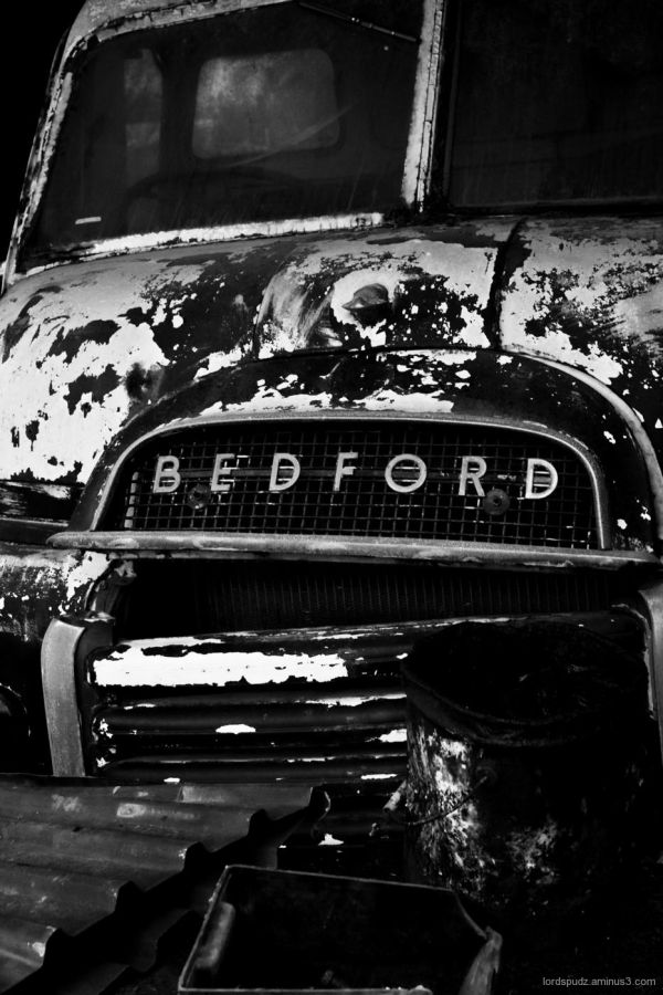Old Bedford van