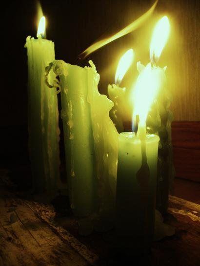 Burning Candel..