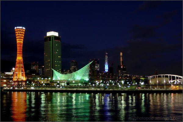 kobe night view LEICA