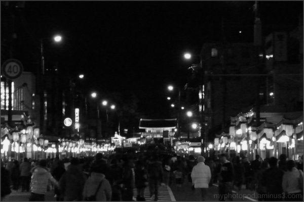Only of walkers sijyo-street night LEICA