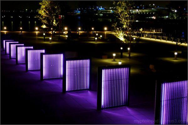 yokohama night view open space of the lights LEICA