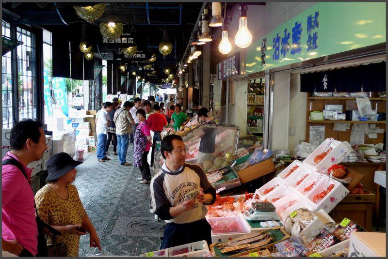 sapporo nijo market The merchant gets moneyLEICA