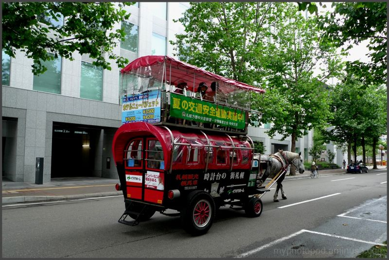 specialty of Sapporo vehicle sightseeing LEICA