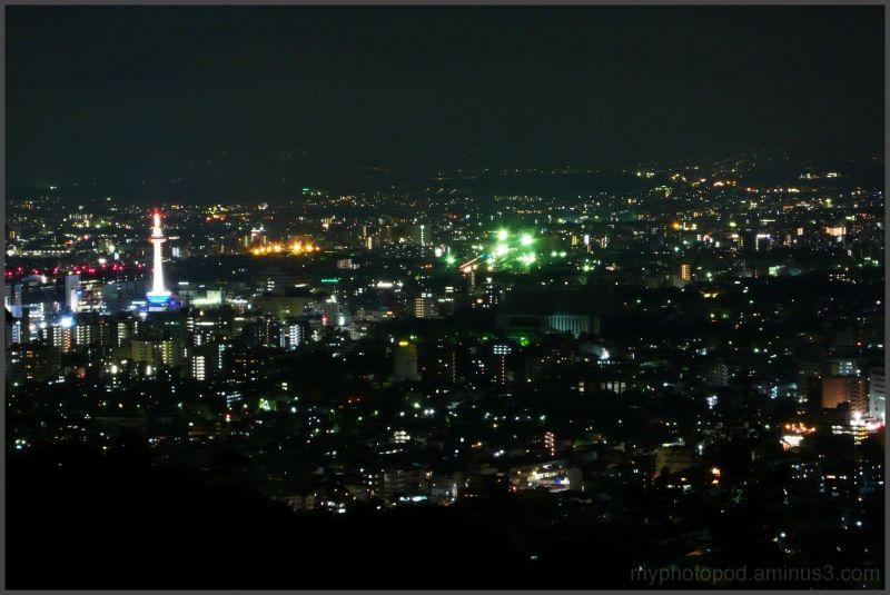 kyoto city night view LEICA