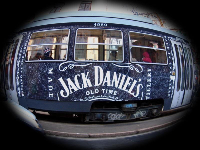 urbam tram jack daniel's