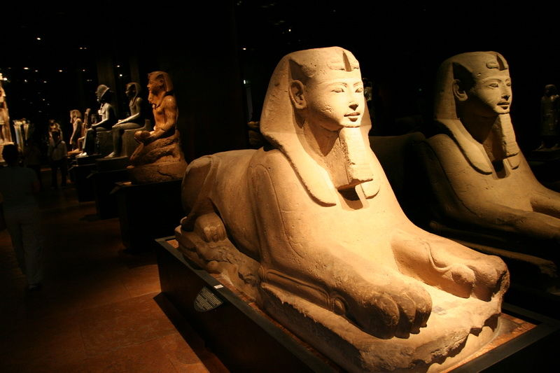 museum egypt sphinx