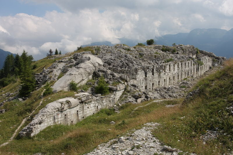 fortress doss delle somme