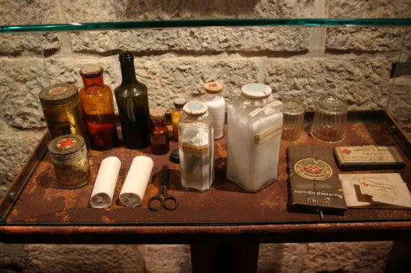 war first aid kit