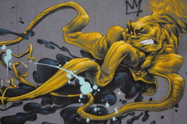 trento graffiti murales