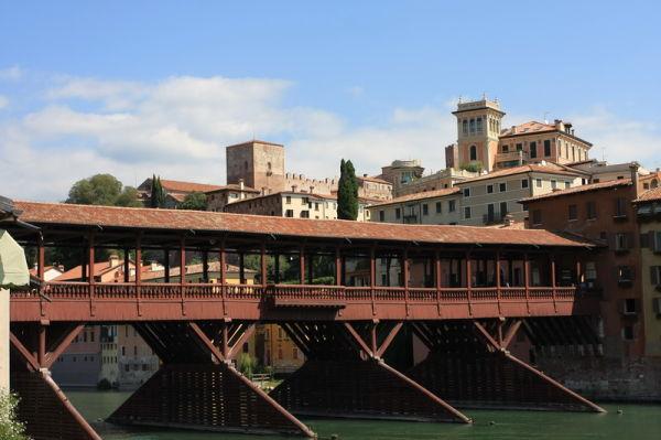 Bassano del Grappa Ponte degli Alpini