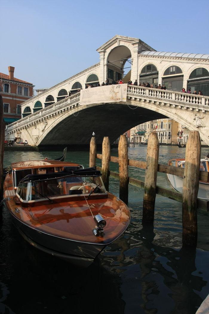Rialto and Boat