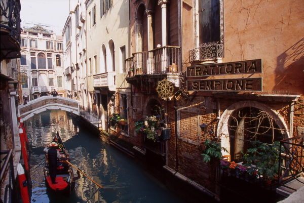 Canale e Gondola
