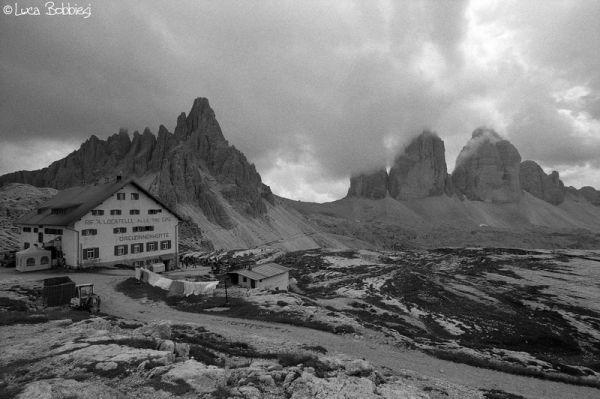 Rifugio Locatelli, Monte Paterno e Tre Cime di Lav
