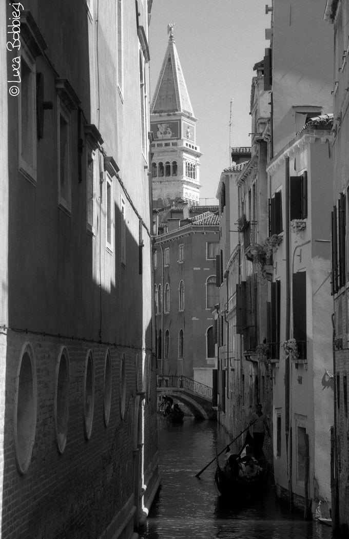 Gondola e Campanile di San Marco