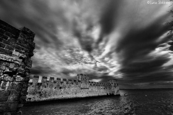 Dramatic Sky on Sirmione