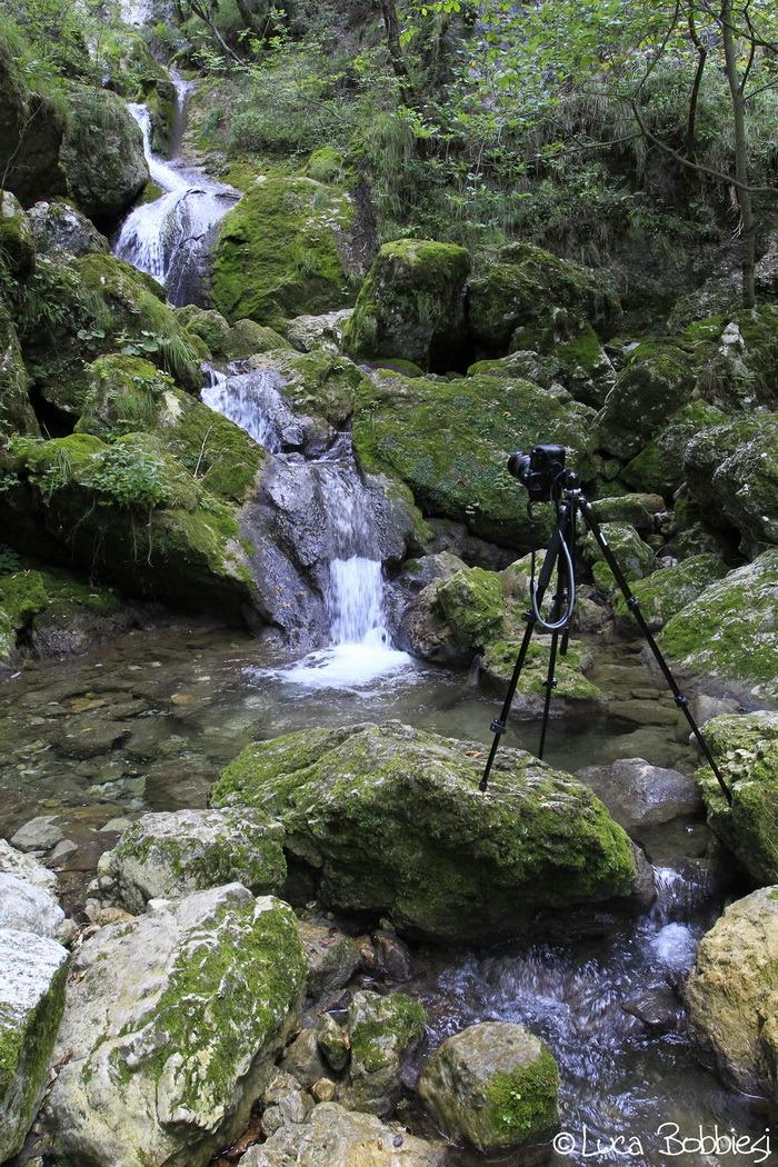 Shooting the Waterfall